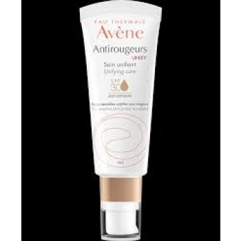 ANTIROUGEURS Soin unifiant SPF30 anti-oxydant peaux sensibles tube pompe  40 ml AVENE