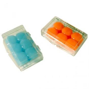 Bouchons d 39 oreilles silicone orange ou bleu bodyguard erar for Bouchons oreilles piscine