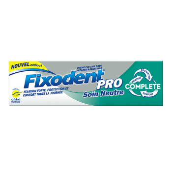 FIXODENT PRO Soin Neutre tube 47 grs FIXODENT