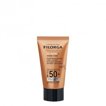 UV-BRONZE SPF50+ Fluide visage anti-âge tube 40 ml FILORGA